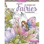 KC Doodle Art Fairies Coloring Book (BOK)