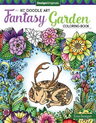 KC Doodle Art Fantasy Garden Coloring Book (BOK)