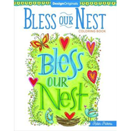 Bless Our Nest Coloring Book (BOK)