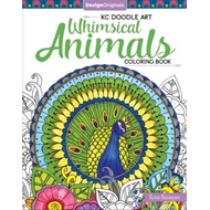 KC Doodle Art Whimsical Animals Coloring Book (BOK)