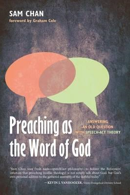 Preaching as the Word of God (BOK)