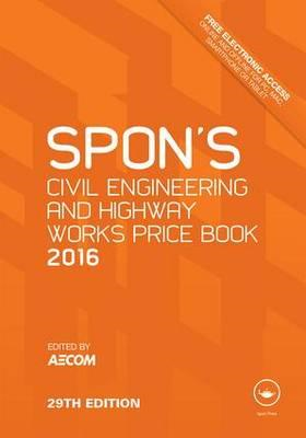 Spon's Civil Engineering and Highway Works Price Book (BOK)
