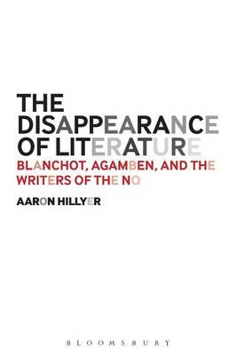 Disappearance of Literature (BOK)
