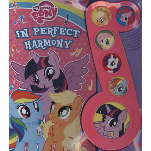 My Little Pony Little Music Note (BOK)
