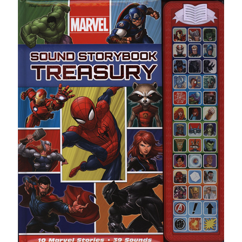 Marvel Sound Storybook Treasury (BOK)