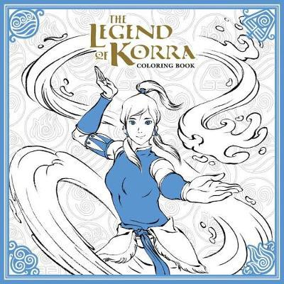 Legend Of Korra Coloring Book (BOK)