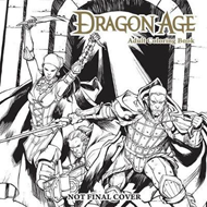 Dragon Age Adult Coloring Book (BOK)