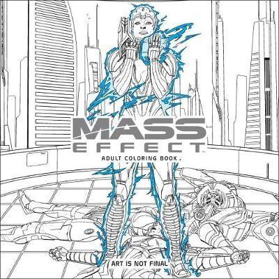 Mass Effect Adult Coloring Book (BOK)