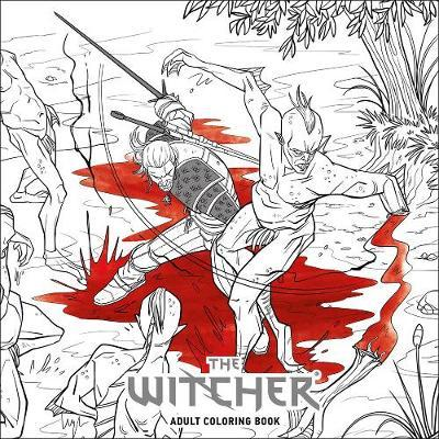 Witcher Adult Coloring Book (BOK)