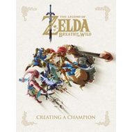 Produktbilde for Legend Of Zelda, The: Breath Of The Wild - Creating A Champi (BOK)