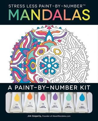 Stress Less Paint-By-Number Mandalas (BOK)
