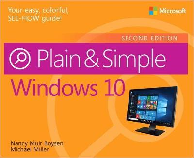 Windows 10 Plain & Simple (BOK)