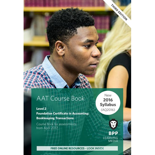 AAT Bookkeeping Transactions (BOK)