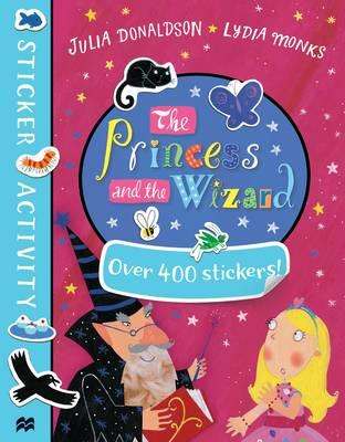 Princess and the Wizard Sticker Book (BOK)