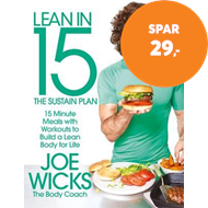 Produktbilde for Lean in 15 - The Sustain Plan - 15 Minute Meals and Workouts to Get You Lean for Life (BOK)