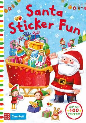 Santa Sticker Fun (BOK)