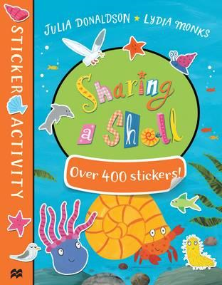 Sharing a Shell Sticker Book (BOK)
