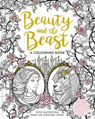 Beauty and the Beast Colouring Book (BOK)