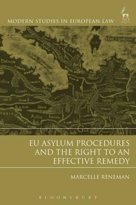EU Asylum Procedures and the Right to an Effective Remedy (BOK)