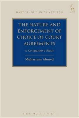 Nature and Enforcement of Choice of Court Agreements (BOK)