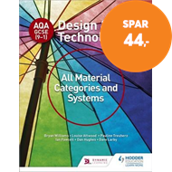 Produktbilde for AQA GCSE (9-1) Design and Technology: All Material Categories and Systems (BOK)