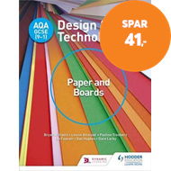 Produktbilde for AQA GCSE (9-1) Design and Technology: Paper and Boards (BOK)