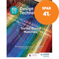 Produktbilde for AQA GCSE (9-1) Design and Technology: Textile-Based Materials (BOK)