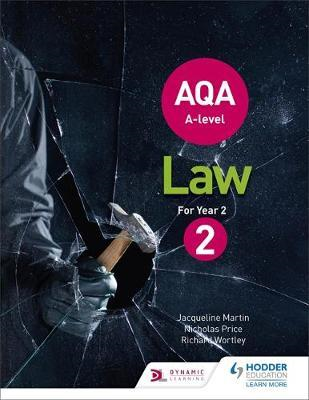 AQA A-level Law for Year 2 (BOK)