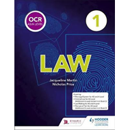 OCR AS/A Level Law Book 1 (BOK)