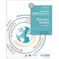 Cambridge IGCSE and O Level Business Studies 5th edition (BOK)