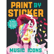 Paint by Sticker: Music Icons (BOK)