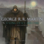 2019 A Song Of Ice And Fire Calendar (BOK)