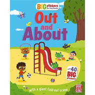 Big Stickers for Tiny Hands: Out and About (BOK)