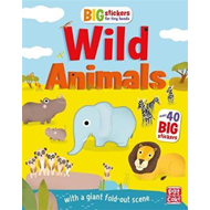 Big Stickers for Tiny Hands: Wild Animals (BOK)