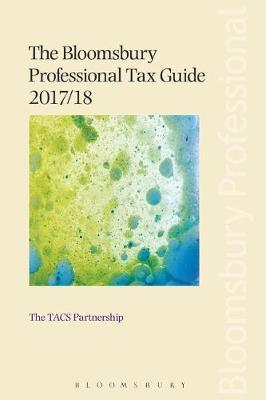 Bloomsbury Professional Tax Guide 2017/18 (BOK)