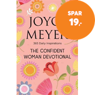 Produktbilde for The Confident Woman Devotional - 365 Daily Inspirations (BOK)