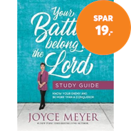 Produktbilde for Your Battles Belong to the Lord Study Guide (BOK)