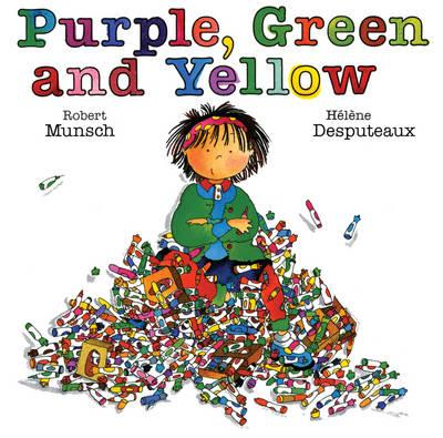 Purple, Green and Yellow (BOK)