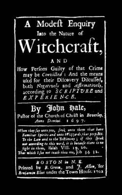 Modest Enquiry Into the Nature of Witchcraft (BOK)