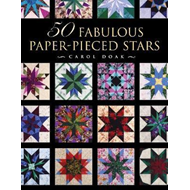 50 Fabulous Paper-Pieced Stars (BOK)