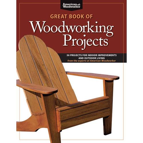 Great Book of Woodworking Projects (BOK)