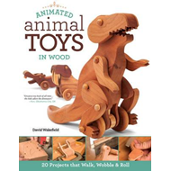 Animated Animal Toys in Wood (BOK)
