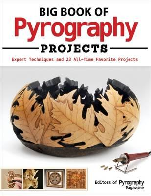 Big Book of Pyrography Projects (BOK)