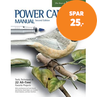 Produktbilde for Power Carving Manual, Second Edition - Tools, Techniques, and 22 All-Time Favorite Projects (BOK)