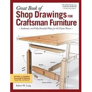 Great Book of Shop Drawings for Craftsman Furniture (BOK)
