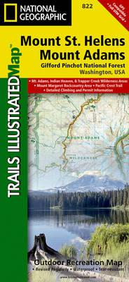 Mount St. Helens/Mount Adams (Gifford-Pinchot National Forest): Trails Illustrated Other Rec. Areas (BOK)