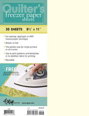 Quilter's Freezer Paper Sheets (BOK)