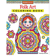 Folk Art Coloring Book (BOK)