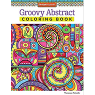 Groovy Abstract Coloring Book (BOK)