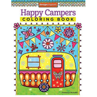 Happy Campers Coloring Book (BOK)